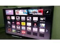 "Panasonic 55"" 3D led smart TV with freeview HD & freesat HD"
