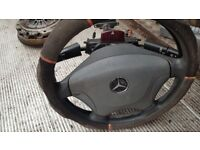 Mercedes Sprinter Van 311 Steering wheel complete with indicators