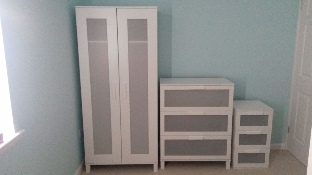 ikea aneboda range bedroom furniture white in balerno edinburgh gumtree. Black Bedroom Furniture Sets. Home Design Ideas