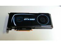 EVGA Geforce GTX 580 (015-P3-1580-B6) 1.5GB GDDR5 SDRAM PCI Express Graphics