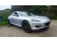 Mazda rx8 192 5speed manual rwd. 11months mot. Swap or cash sale
