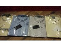 shirts 4 medium new record and versace
