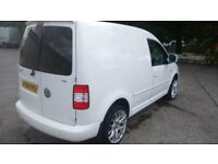 TEL 07752696732 2009 MINT VW CADDY FULL MOT ONE OWNER FROM NEW NO VAT