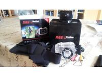 AEE MagiCam SD19 Waterproof 1080p 30 FPS HD Sports Action Camera and Accessories