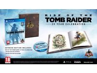 Rise of the tomb raider ps4 game 20 year celebration
