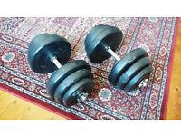 Dumbbell set 20kg x 2
