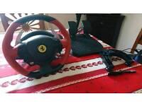 Thrustmaster Ferrari 458 Spider Racing Wheel (Xbox One) Excellent condition.