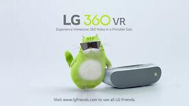 LG 360 VR LG R 100 . new !!!!
