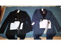 2 Brand new Suits (Jacket, Trouser + Shirt & Tie) by Next