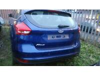2015 ford focus complete rear end