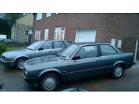 BMW 316 E30 2 Door Coupe Retro Classic Project