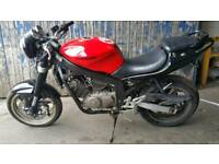 Hyosung 125cc learner legal motorbike