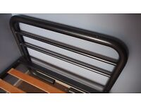 Metal frame single bed (can have with or without mattress) - priced for quick sale