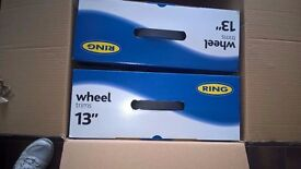 "Caravan Breakers DORSET - NEW WHEEL TRIMS from RING - 13"" 14"" 15"" & 16"" from £13"