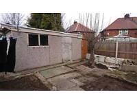 Concrete garage for sale £250 ono
