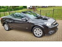 2010 VAUXHALL ASTRA TWINTOP CONVERTIBLE 1.8 LOW MILEAGE 51,000