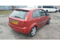 For sale 06 plate Ford Fiesta 1.2 petrol MOT 5 months full V5 some service history cheap taxi insura