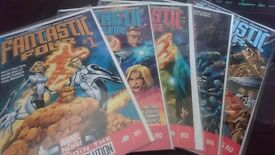 Fantastic 4, 1-5 , Marvel Now