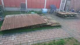 Garden Fence and door in very good condition