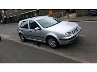1 PREVIOUS OWNER 57K MILEAGE 2003 MK4 GOLF 1.6L AUTOMATIC PETROL