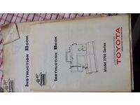 SEWING MACHINE TOYOTA