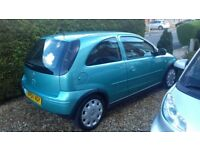 Vauxhall corsa automatic spares or repairs