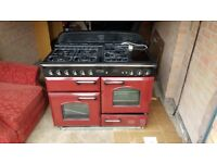 Rangemaster 110 gas oven, electric starters and hot plate, like new