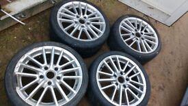 """Porsche Alloys 18"""""""