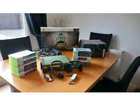 XBOX 360 HALO Ltd Edition 24games/guitar hero
