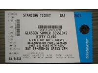Biffy Clyro - Glasgow Summer Sessions, Bellahouston Park 27th August