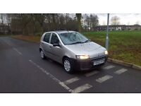 Fiat punto 1.2 5 door hatchback 12 months mot