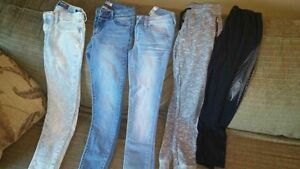 Girls jeans and pants
