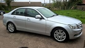 Mercedes C320 CDI V6 Saloon Elegance 221 B.H.P. Auto 08 Only 2 Careful owners