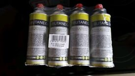 Butane camping gas