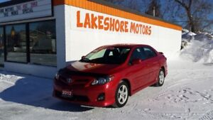 2012 Toyota Corolla S (M5) BLUE TOOTH