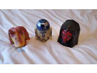Star Wars Micro Machines Head Play Sets