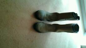 work boots size 7 steel toe cap