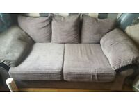 2 seater and 3 seater couch for sale bit off paint on it but other now ok