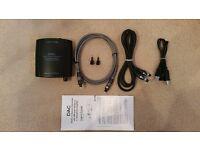 Digital to Analog Converter (Optical, Coaxial, USB to RCA Twin Phono, 3.5mm Jack Plug)