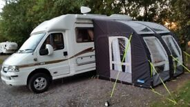 Kampa Motor Rally Air Pro 260 L. bought new in 2016, all complete and perfect condition.