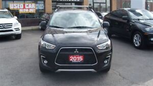 2015 Mitsubishi RVR LIMITED/AWD/HEATED SEATS/FACTORY WARR