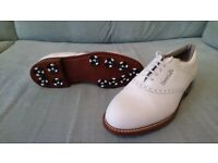 Full Leather Reebok Golf Shoes Size 7.5