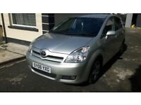 TOYOTA COROLLA VERSO 2006 DIESEL 7 SEATER