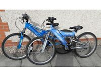 used bikes - boys and girls from Halfords - for spares and repairs