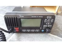 VHF RADIO I COM, condition is new never used.