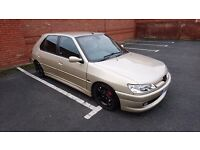 Peugeot 306 hdi modified very rare colour