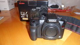 Sigma SD14 14mp camera body.