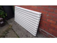 Corrugated Fibre Cement Roofing Sheets - 5 x 1.5m