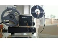 Super 8 and standard 8 cine projector