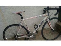 (Price Negotiable) Cube Peloton Mens Carbon/Aluminium Road Bike + Accessories